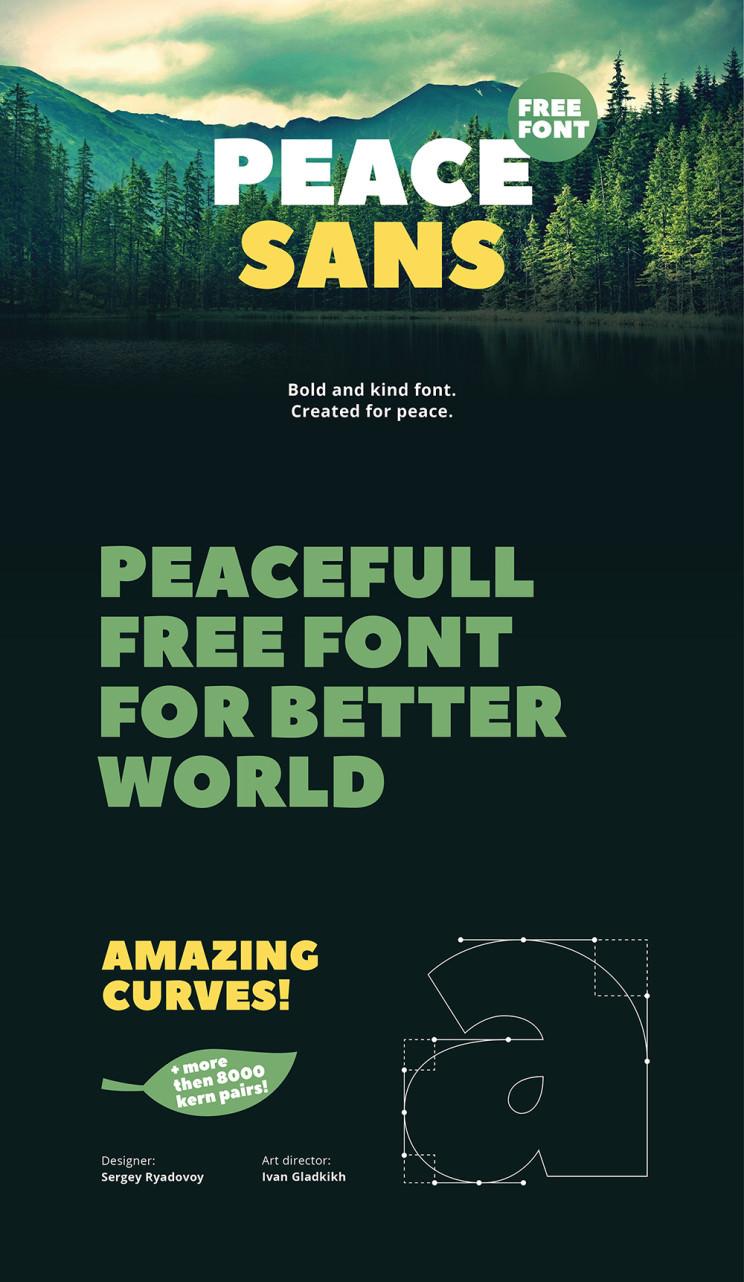 Peace-Sans-Font-Free-Download-01