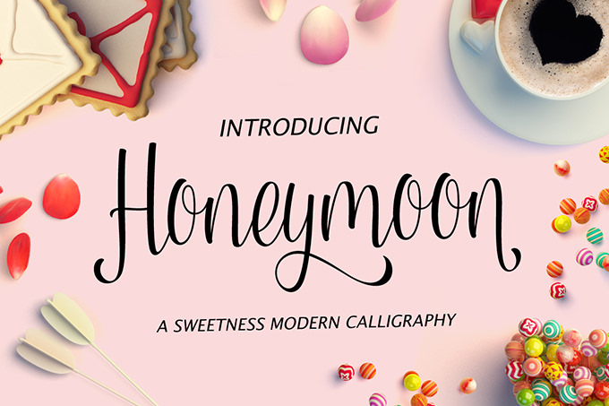 honeymoon-font